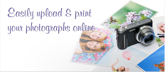 Easily upload & print your photographs online